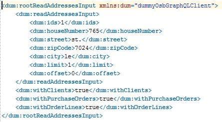 exemple requête XML