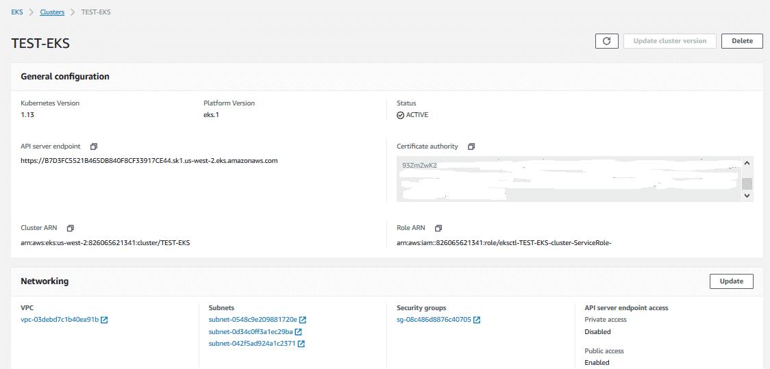 Utiliser Kubernetes dans le Cloud AWS : Partie 2 - Création