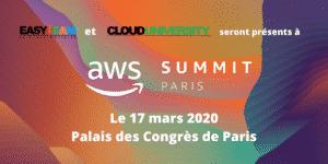 AWS Summit EASYTEAM 2020