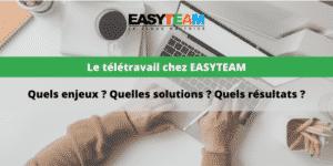 Télétravail chez Easyteam